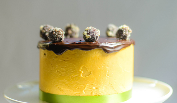 Surbhi Sahni | Pistachio Cardamom Cake