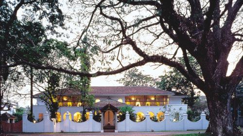 Outside Malabar House