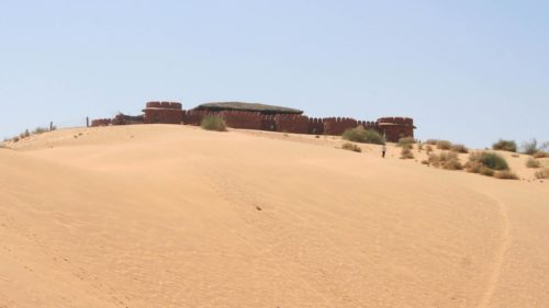 Image of the camel camp hotel