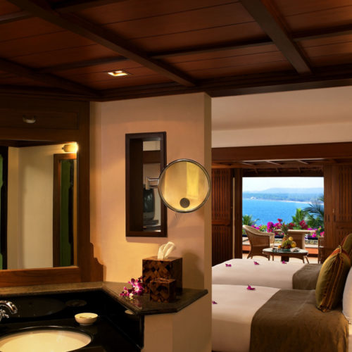 Bedroom at The Leela, Kovalam Beach