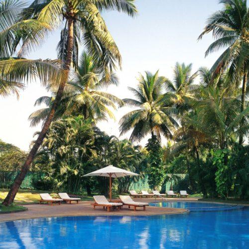 Poolside at The Leela Mumbai