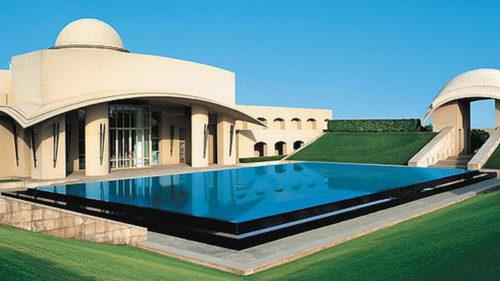 Trident Gurgaon pool area