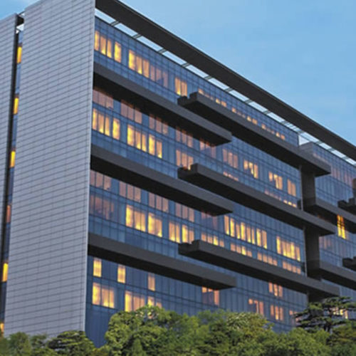 Trident Hyderabad from the outside