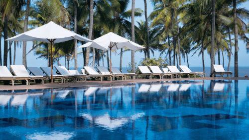 Pool and sea view at Vivanta by Taj, Holiday Village