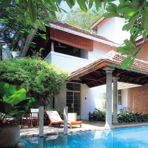 Malabar House swimming pool