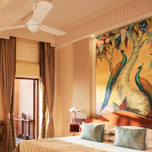 The Royal Suite ant the Taj Unmaid Bhawan Palace