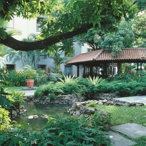 Trident Fort Cochin garden