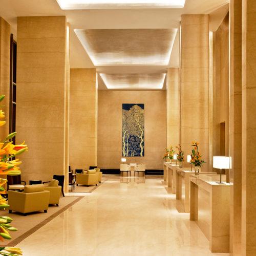 Trident Hyderabad hallway