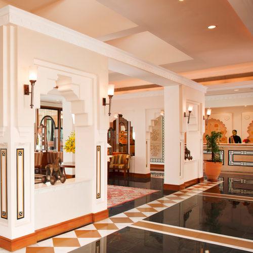 Trident Jaipur lobby