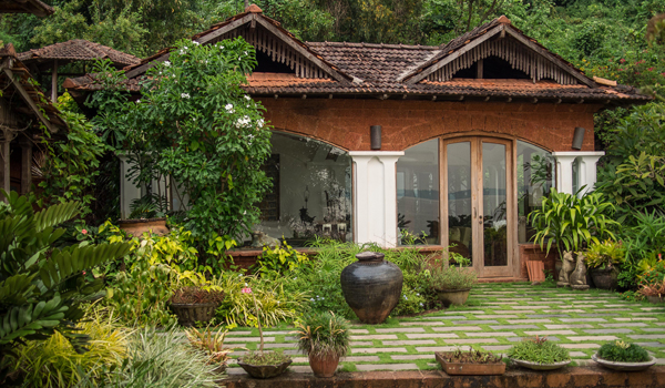 Ahilya by the Sea is one of Goa's most coveted boutique stays © Ahilya by the Sea