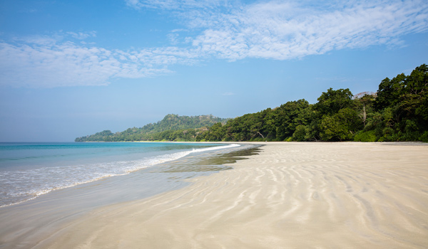 The Andaman Islands are famous for their gorgeous beach and jungle scenery © Ed Reeve