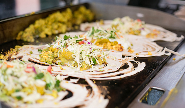 Operating across two stalls, The Dosa Brothers turn out quick, casual - and delicious - dosas © The Dosa Brothers