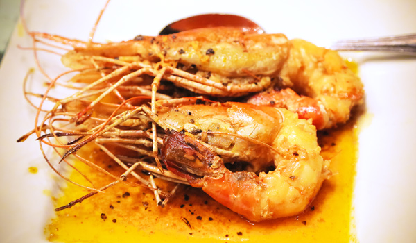 Sri Lankan Dishes | Garlic Prawns