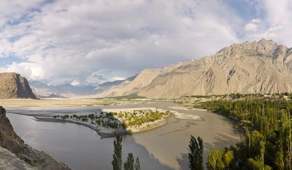 Indus River Panorama