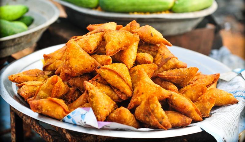 Food in India   Samoas