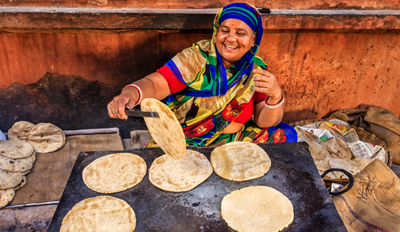 Food in India | Chapatti