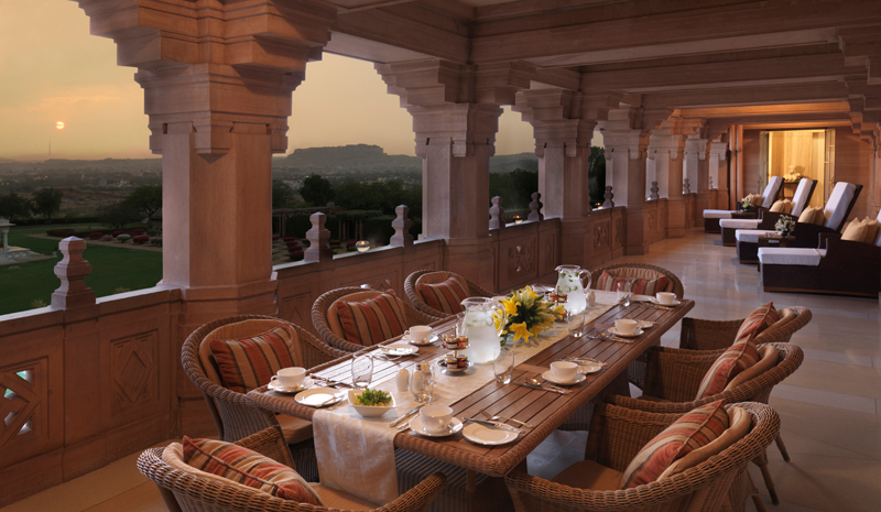 Viceroy's House | Terrace