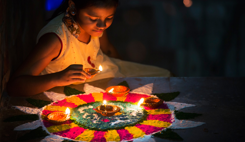 Indian Festivals | Diwali Lights