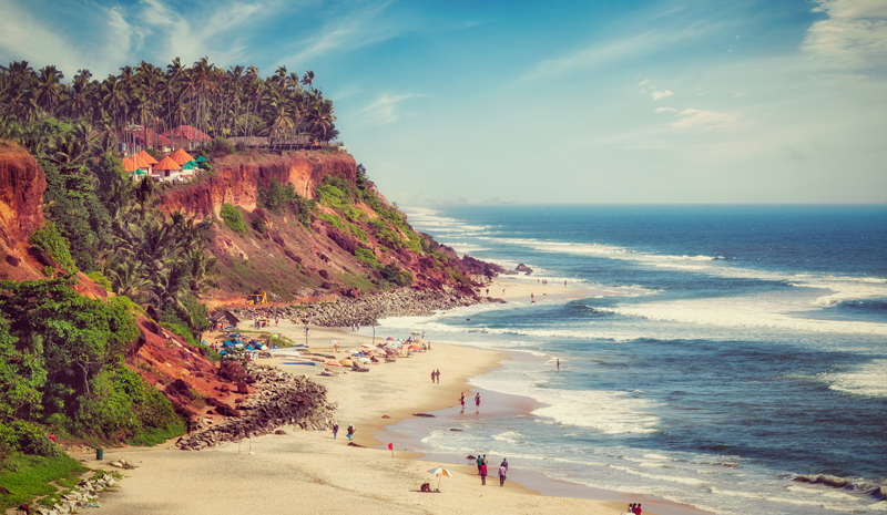 Beaches in Kerala | Varkala Beach