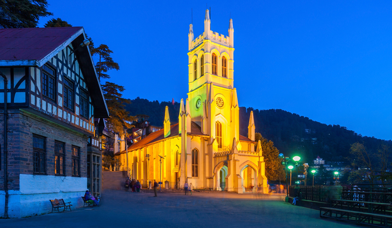 Landmarks in India | Mall Road Shimla