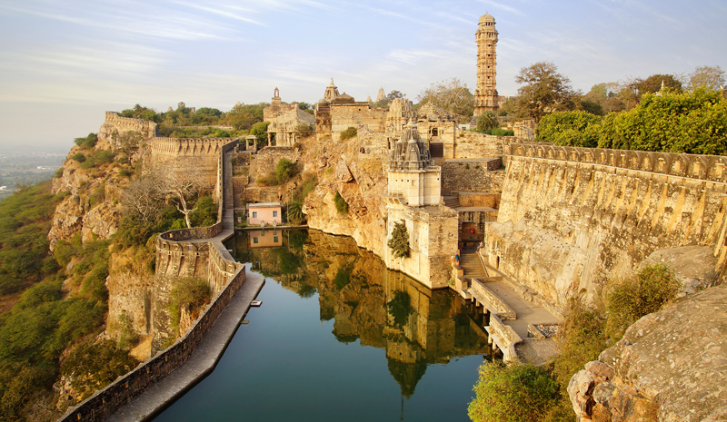 Landmarks in India | Chittorgarh Fort