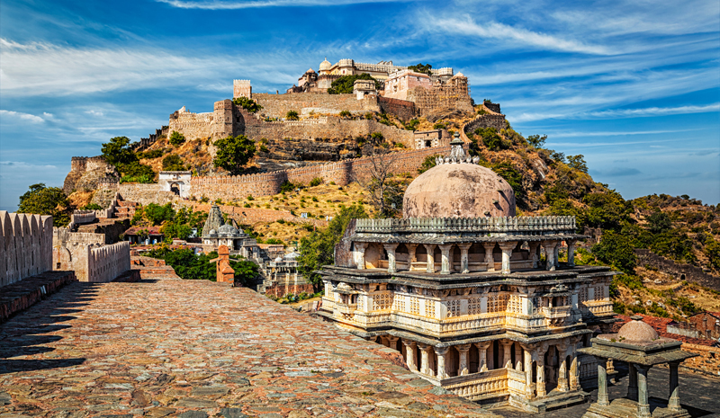 Landmarks in India | Kumbhalgarh Fort
