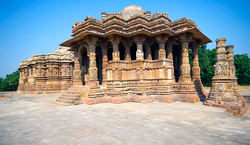 Landmarks in India | Sun Temple Modhera