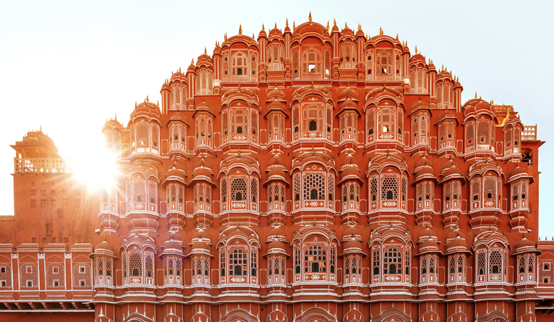Landmarks in India | Hawa Mahal