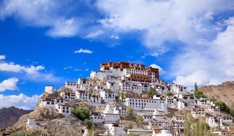 Landmarks in India | Thiksey Monastery