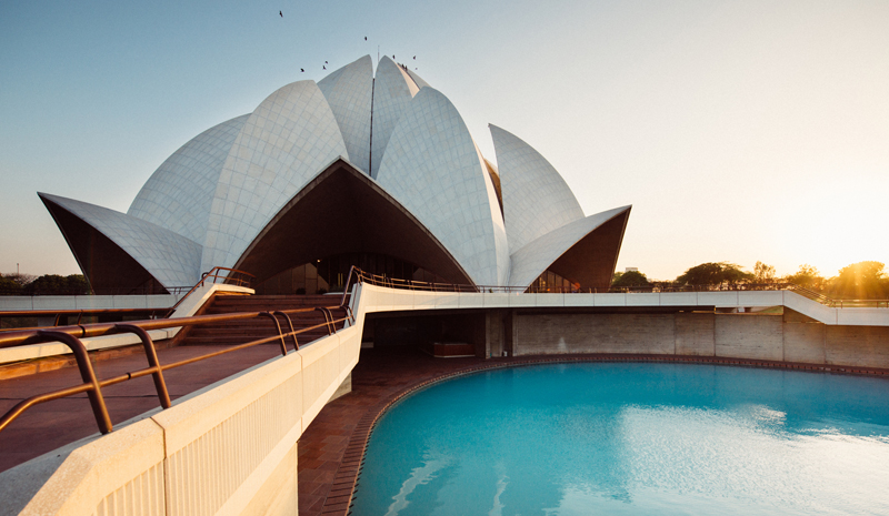 Landmarks in India | Lotus Temple