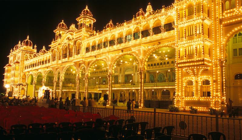 Landmarks in India | Mysore Palace