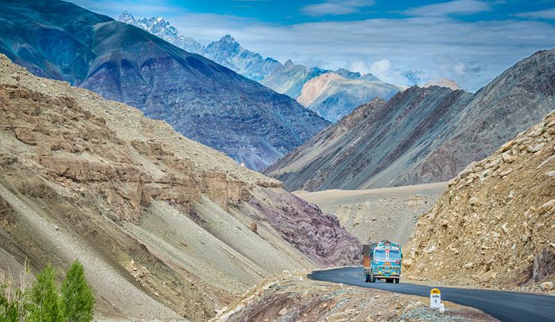 Himalayan India | Truck