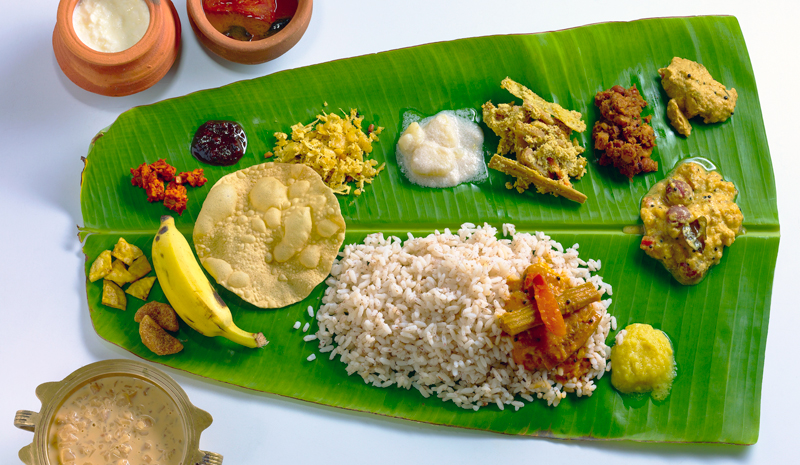 Traditional Keralan Dishes | Sadhya