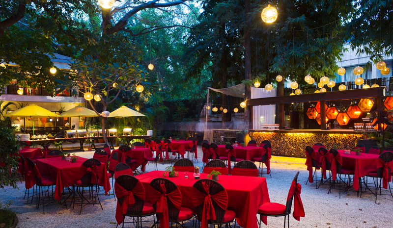 Best Restaurants in India | Lodi The Garden Restaurant