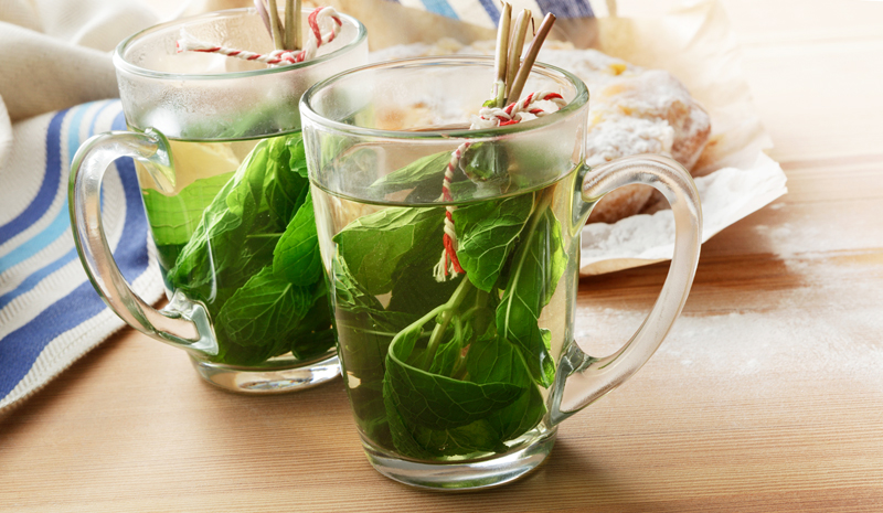 Home Ayurveda | Mint Tea