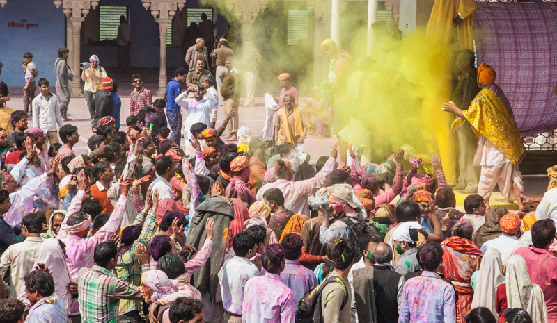Where to Celebrate Holi | Mathura