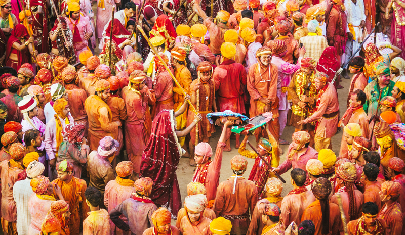 Where to Celebrate Holi | Rajasthan