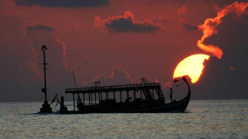Greaves boat cruise at sun set