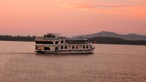 River boat cruise in Assam India