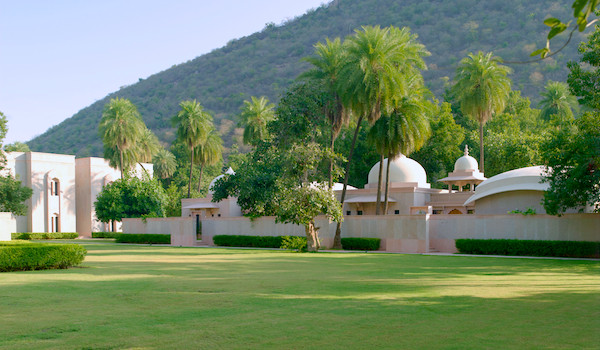 Amanbagh - Pool Pavilion Exterior