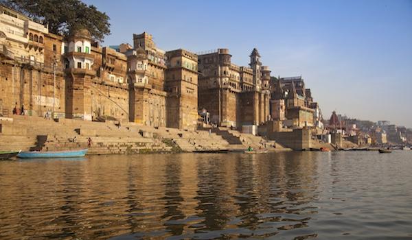 The Ghats In Varanasi