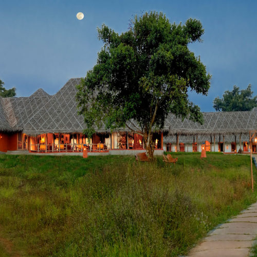 Outside view of Orange County Kabini Resort