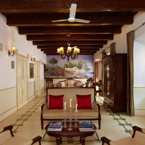 Inside Siolim House
