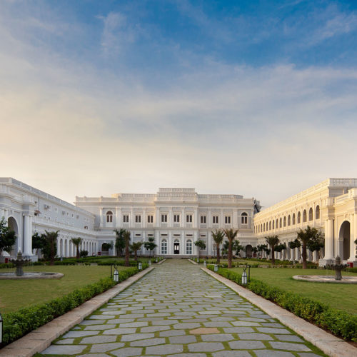 Courtyard at Taj Falaknuma Palace