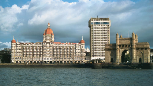 Outside view of Taj Mahal Palace