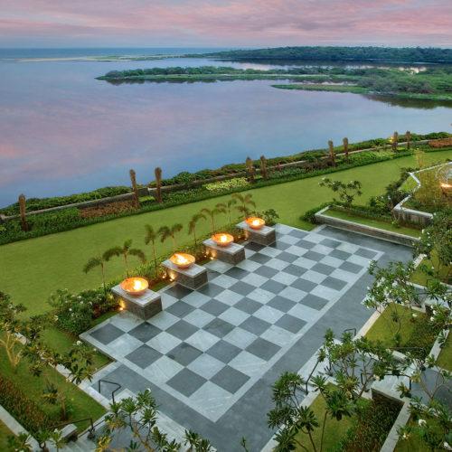 The Leela Palace Chennai gardens