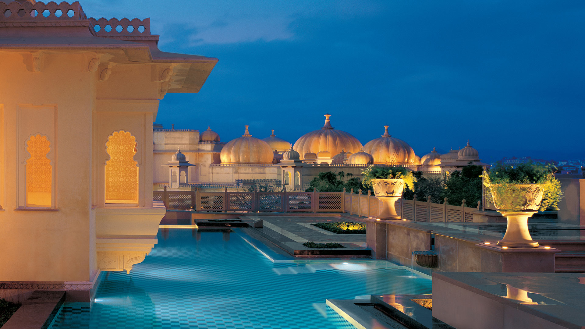 The Oberoi Udaivilas, Udaipur, Rajasthan ⋆ Hotel ⋆ Greaves ...