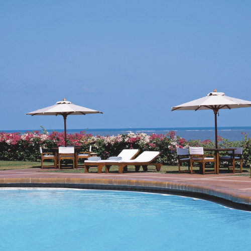Trident Nariman Point pool and sea view