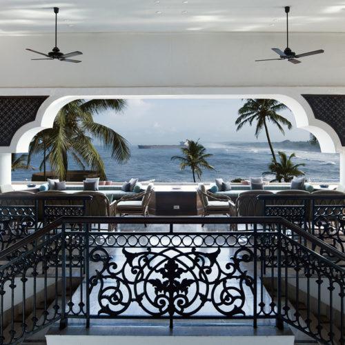 Ocean view from Vivanta by Taj, Fort Aguada