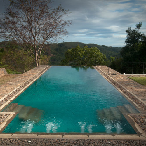 The infinity pool at the living-heritage-koslanda hotel